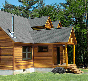 Year-round use house